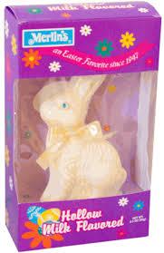 white chocolate bunny hollow white chocolate easter bunny 3 5oz