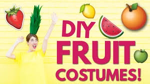 diy halloween costume ideas diy fruit costumes youtube