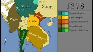 North Asia Map by The History Of Southeast Asia Every Year Youtube