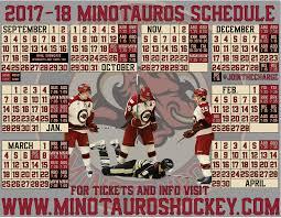 printable bulls schedule printable schedule minot minotauros