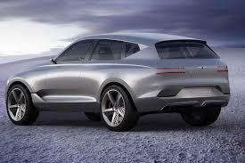 hyundai genesis suv genesis wows york auto with futuristic fuel cell suv