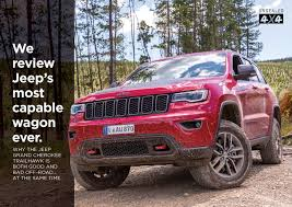 jeep grand cherokee trailhawk off road we review jeep u0027s most capable wagon ever unsealed 4x4