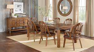 Affordable Rustic Dining Room Sets Rooms To Go Furniture - Rustic dining room table set