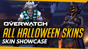 dva halloween spray overwatch halloween all skins emotes highlight intros victory