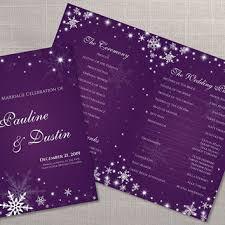 purple wedding programs purple wedding program templates tbrb info