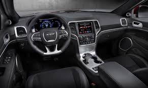 jeep grand cherokee custom interior 2015 jeep grand cherokee srt review autoguide com news