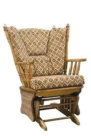all wood glider rocking chair great glider rocker with ottoman