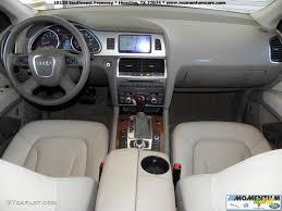 Audi Q7 Inside Cardamom Beige Interior 2008 Audi Q7 4 2 Premium Quattro Photo