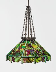 tiffany grape trellis chandel lighting sotheby u0027s