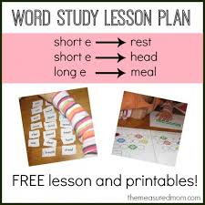 spelling ea words a free lesson with printables the measured mom