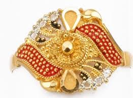 gold ring design calcutta color design