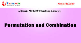 permutation and combination aptitude mcq questions and solutions
