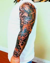 100 koi sleeve tattoo designs daring koi tattoo koi back