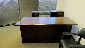 office desk with credenza 7 desk with credenza mahogany by first office