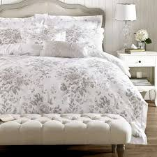 Dunelm Mill Duvets Holly Willoughby Ruby Grey 100 Cotton Reversible Duvet Cover Dunelm