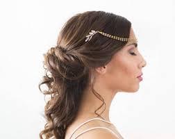 silver crystal headpiece silver crystal wedding head piece