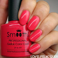 love life lacquer smoothnails flirt watermelon tropical