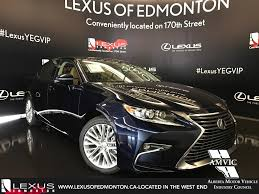 Used 2017 Lexus Es 350 4 Door Car In Edmonton Ab L13178