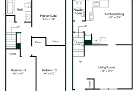floor plans countryside townhouses