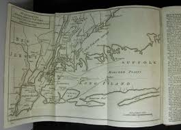 Colonial America 1776 Map by Complete 1776 Gentleman U0027s Magazine With Declaration Of