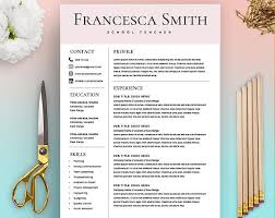 Free Resume Templates For Teachers To Download The 25 Best Teacher Resume Template Ideas On Pinterest Resume