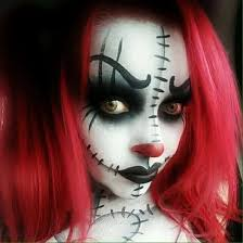 Halloween Costumes Red Hair 20 Scary Halloween Makeup Ideas Creepy Makeup