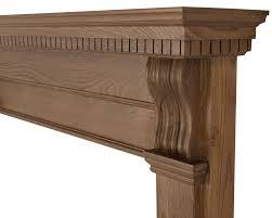 corbel wooden fireplace surrounds carron