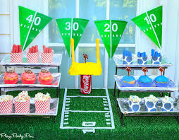 football party ideas five touchdown worthy football party ideas