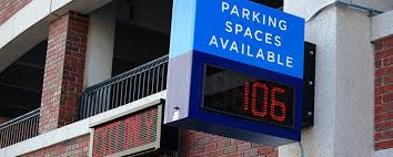 Garage Tech Outdoor Led Parking Garage Signs Led Parking Lot Signs Led