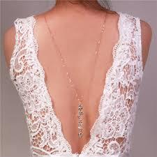 back jewelry necklace images Backdrop necklace novel design crystal long pendant necklaces back jpg