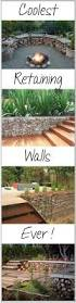 Pictures Of Retaining Wall Ideas by Best 25 Landscaping Retaining Walls Ideas On Pinterest