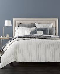 ticking stripe comforter closeout hotel collection linen ticking stripe bedding collection