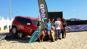 surfboard jeep jeep people surfing