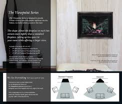 the viewpoint series vp 36m dv gas fireplace stellar hearth products