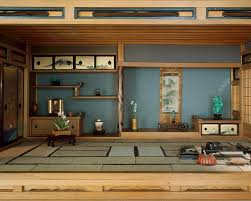 Color For Calm by Japanese House Interior Design Modern With Traditional Nuance For