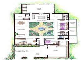 House Plans With Courtyard Baby Nursery Atrium House Plans Best Ve Avlu Atrium House Design