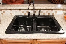 Kitchen Faucets Black Black Kitchen Sink Faucets Photogiraffe Me