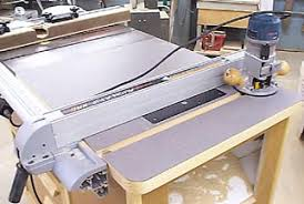 Table Saw Router Table Improve Your Router Table With These Tips From Bink U0027s Woodworking