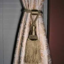 Tassel Curtain 78 Curtain Tie Backs To Take Inspiration From Patterns Hub