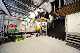 calgary garden tool storage ideas garage contemporary with floors