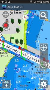 usa map gps aqua map usa marine gps android apps on play