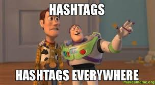 Meme Hashtags - hashtags in advertising an integral connection to the online