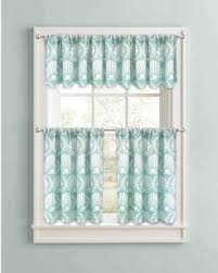 Kitchen Curtains On Sale by Spring Sale Better Homes And Gardens Aqua Venus Shells Kitchen