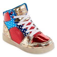 big kids light up shoes warner brothers wonder woman light up girls sneakers little kids big