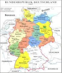 Map Of States With Capitals by German States And State Capitals Map Adorable Map Of Gemany
