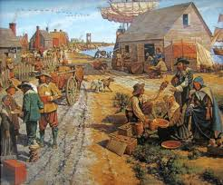 the first thanksgiving 1621 this was the first permanent english settlement in north america