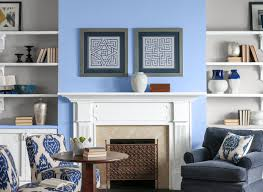 top country blue living room home design new interior amazing