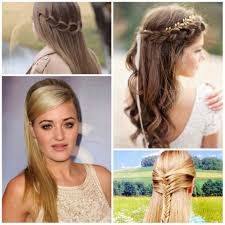 semi updo hairstyles how to 5 amazingly cute easy hairstyles with