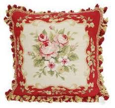 needlepoint pillow ebay