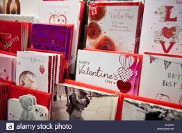 racks of day cards on sale at a branch of w h smith uk